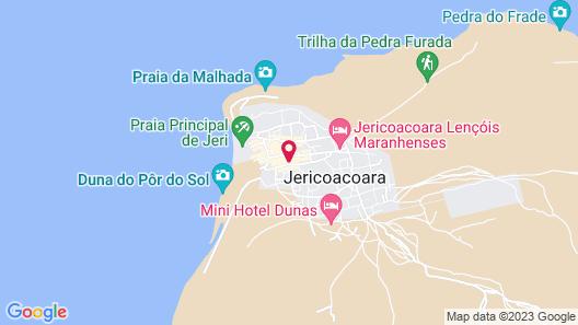 Jeri Village Hotel Map