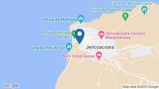 Blue Residence Jericoacoara Map