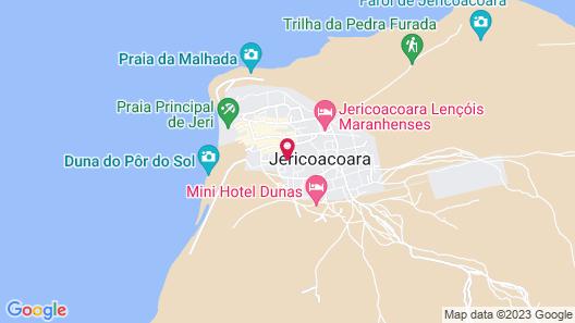 Samba do Kite Pousada Map