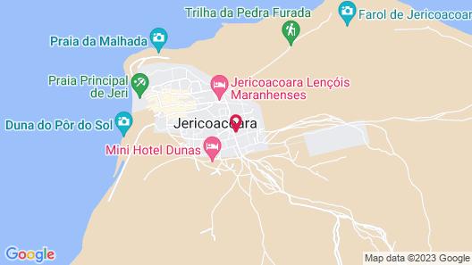 Villa das Palmeiras Map