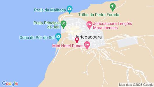 La Villa Praia Map