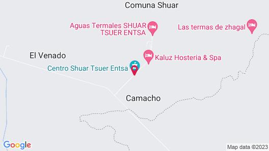 Kaluz Hosteria & Spa Map