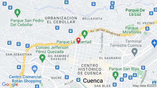 Hostel Bella Vista Map