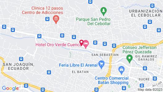 NASS Pinar del Lago Map