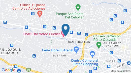 Oro Verde Cuenca Map