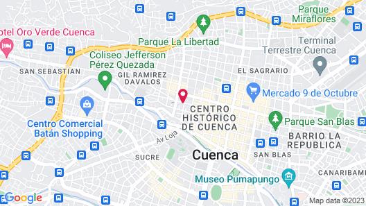 Hostal Posada Del Angel Map