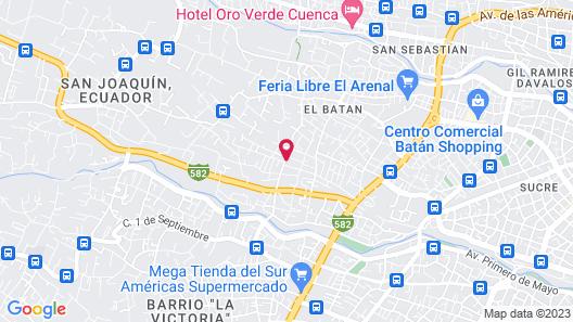 Hostería Caballo Campana Map