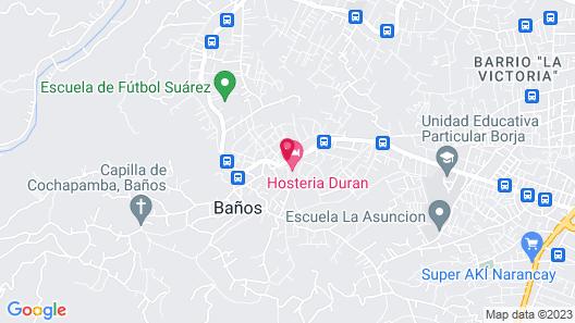 Hosteria Durán Map