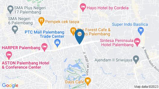 Novotel Palembang Hotel & Residence Map