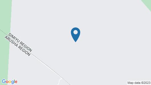 Gnu Ndutu Camp Map