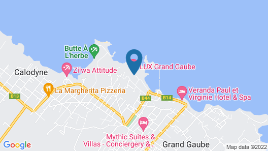 LUX* Grand Gaube Resort & Villas Map