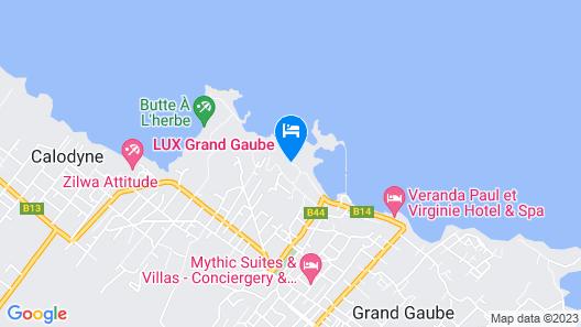 LUX* Grand Gaube Resort & Villas Map