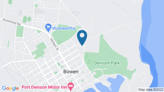 Bluewater Harbour Serviced Apartments Map