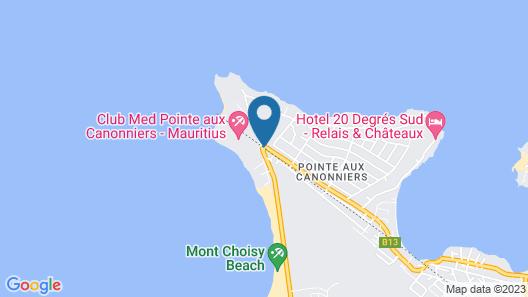 La Pointe Villas Map
