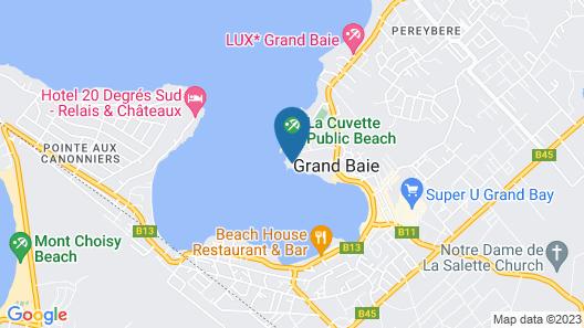 Veranda Grand Baie Hotel & Spa Map