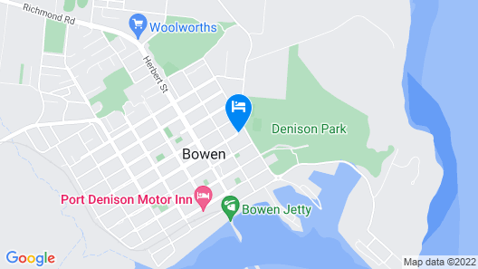 Bluewater Harbour Motel Map