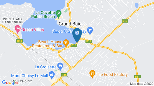 Azure Beach Boutique Hotel Map