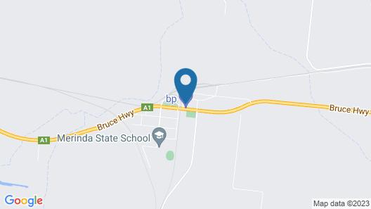 Merinda Village Hotel Map