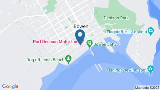Port Denison Motor Inn Map