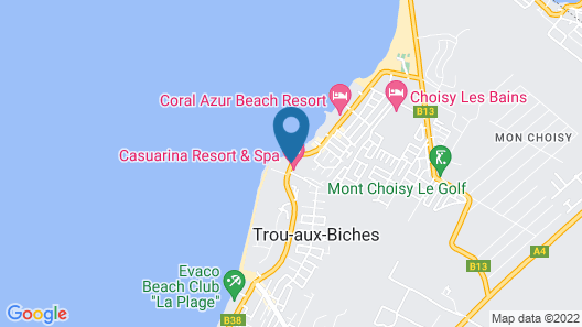 Casuarina Resort & Spa Map