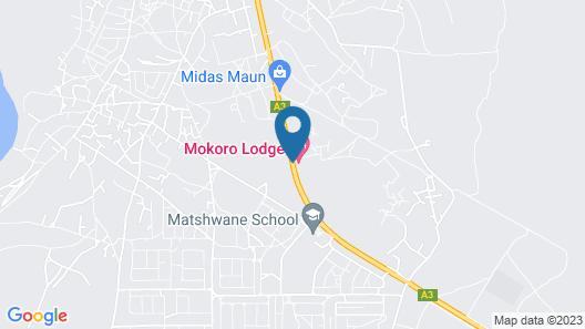 Mokoro Lodge Map