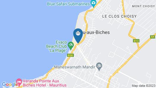 Ocean Beach Villa Map