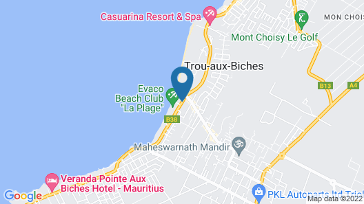 O'Biches by Horizon Holidays Map