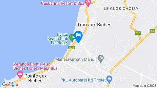 Le Palmiste Resort & Spa Map