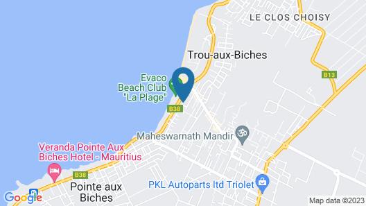 Residence Le Palmiste Map