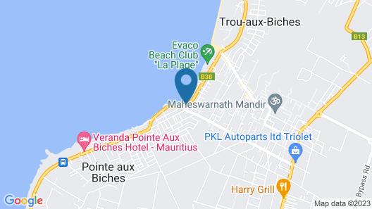 La Tonnelle Map