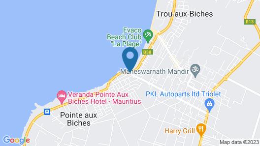 Élysée Résidence Map