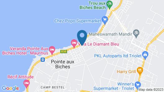 Villa de Haut Standing Diroma Map