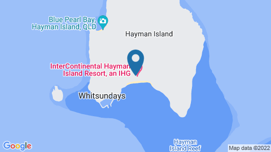 InterContinental Hayman Island Resort, an IHG Hotel Map