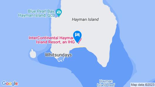 InterContinental Hayman Island Resort, an IHG Hotel Map