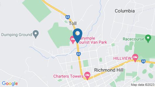 Dalrymple Tourist Van Park Map