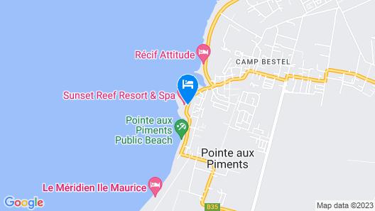 Sunset Reef Resort & Spa Map