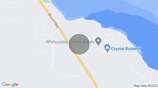 Palm Lakeside - Bowen, Whitsundays Free Wifi/netflix Private Cool Luxury Map