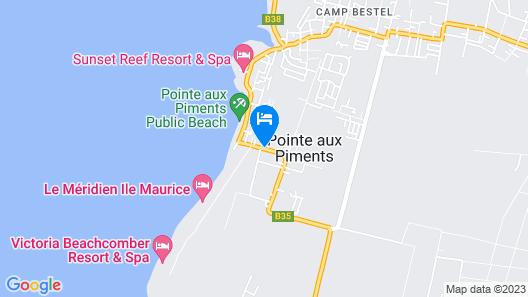 La Margarita Map