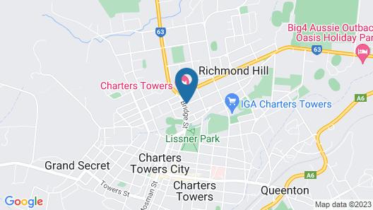 Cattleman's Rest Motor Inn Map
