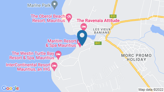 InterContinental Mauritius Resort Balaclava Fort, an IHG Hotel Map