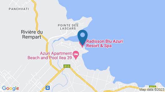 Life in Blue Azuri Residences Map