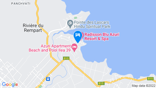 Azuri Residences by Life in Blue Map