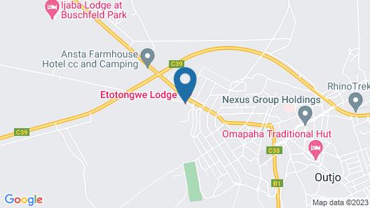 Etotongwe Lodge Map