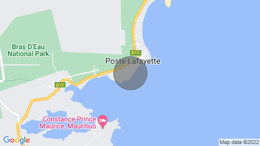 Beachfront & Pool Poste Lafayette Free Internet Wifi Map