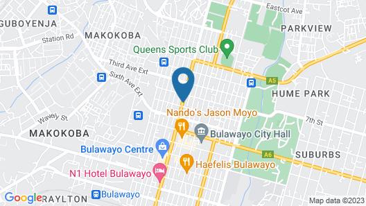 Holiday Inn Bulawayo, an IHG Hotel Map