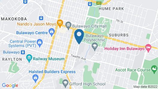 Arikho Suites Map