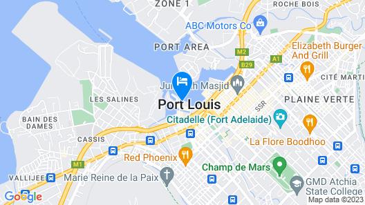 Labourdonnais Waterfront Hotel Map