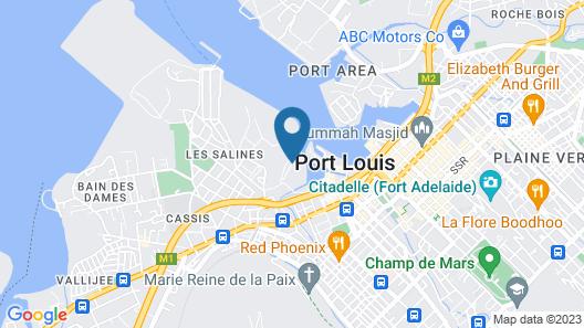 Le Suffren Hotel & Marina Map