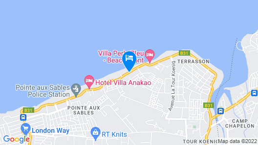 Villa Jessica Map