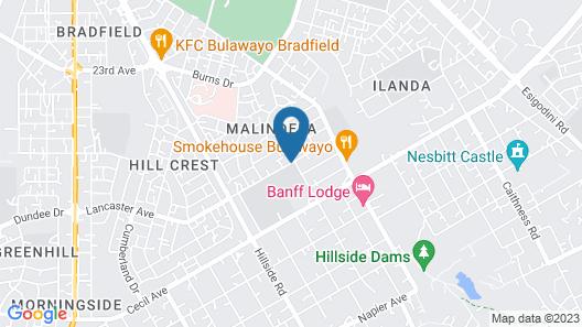 Motsamai Lodge Map